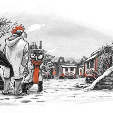 Hansi, bog #3, illustration 01