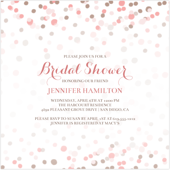Greatest Bridal Shower Invitations