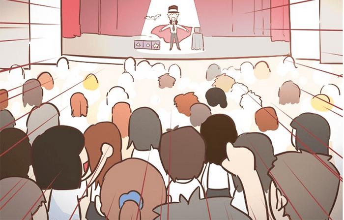 Webtoon #26 別讓無心的話語默默地傷了自己的心。