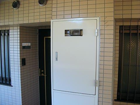 PSの扉を閉めた状態