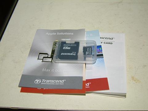 マイクロSDカードはあったほうが良いです!
