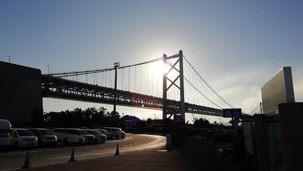 瀬戸大橋、与島PAからの絶景!