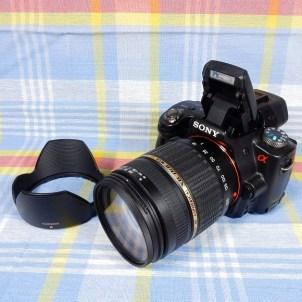 メインカメラ(ソニー α55)