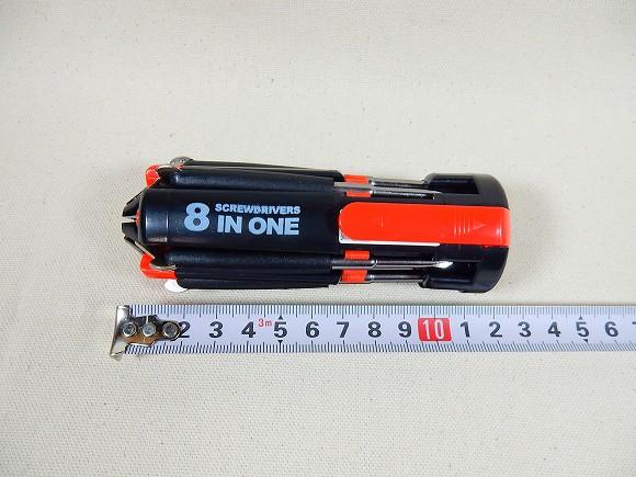 握り部分の長さは、約12センチです。