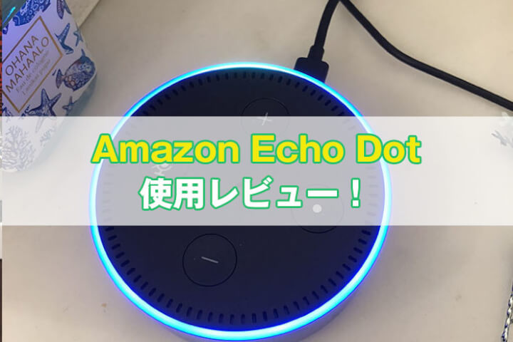 Amazon Echo Dot レビュー