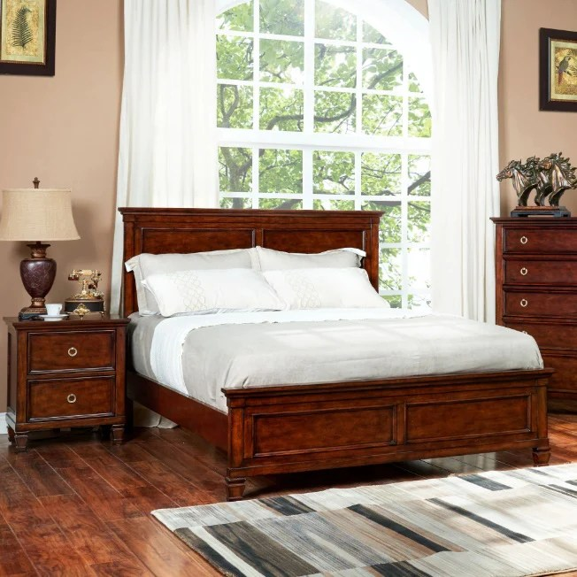 Mobexpert Blog. Dormitor din lemn