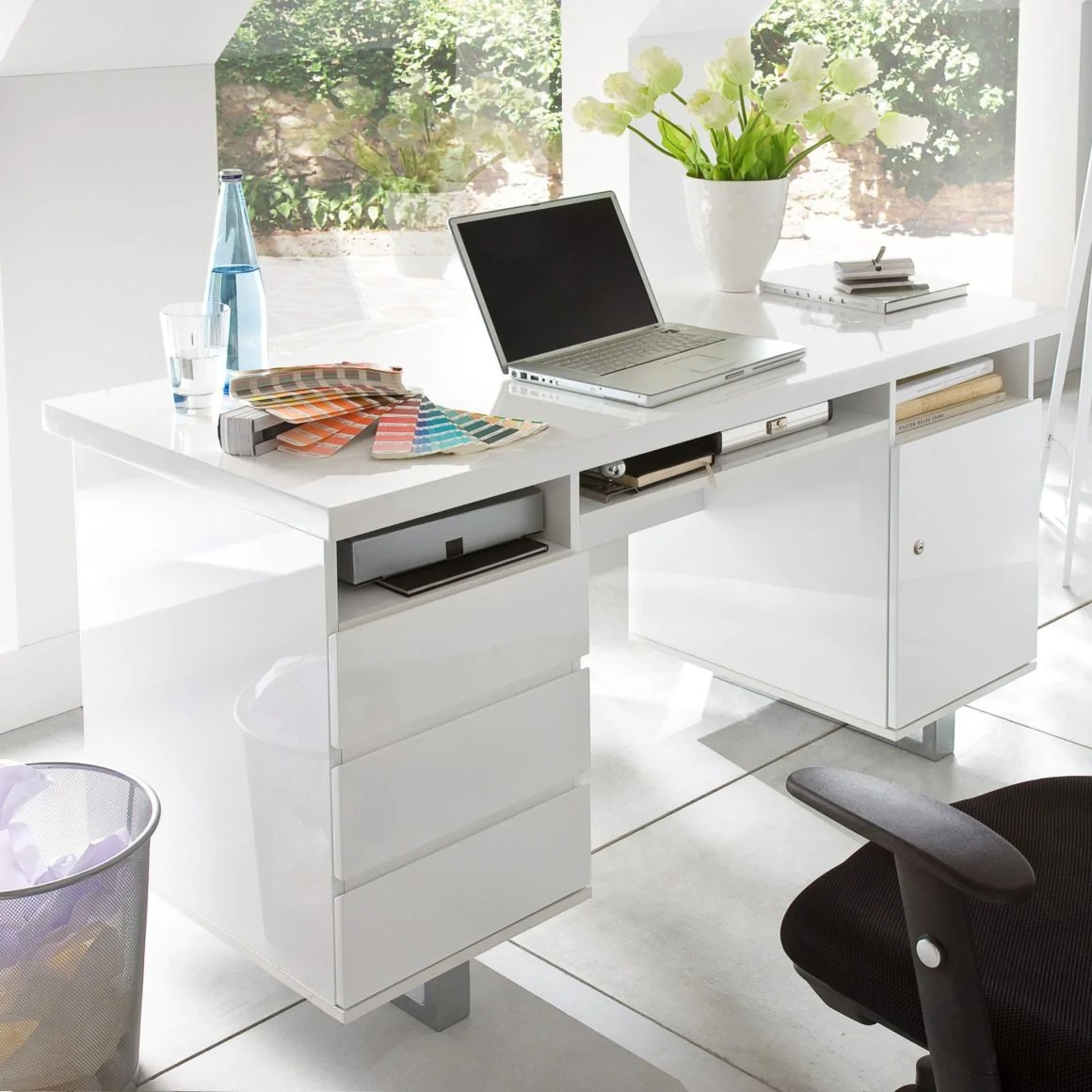 mobila living modern cu birou
