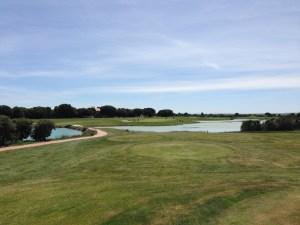 Salida hoyo 9 Golf Lerma Mobgolf.com