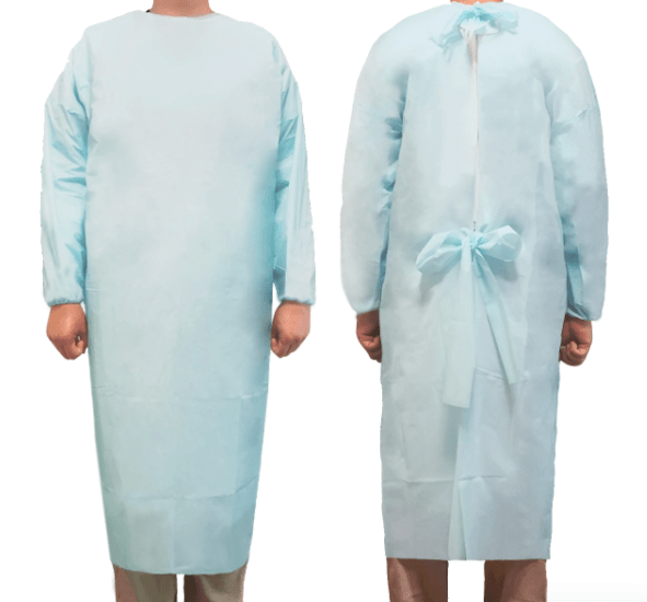 medical isolation gown, medical coverall