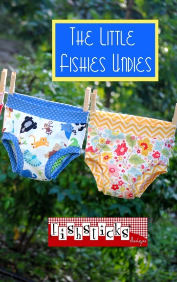 Fishsticks' Little Fishies Undies