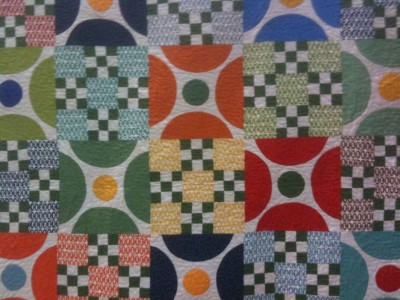An American Jane quilt by Sandy Klop from 2011 fall Market. This photo was the screensaver on my phone for more than a year.