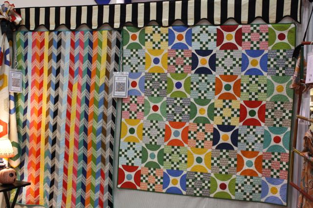 I ALWAYS want to make one of Sandy Klop's American Jane quilts. These are from 2011