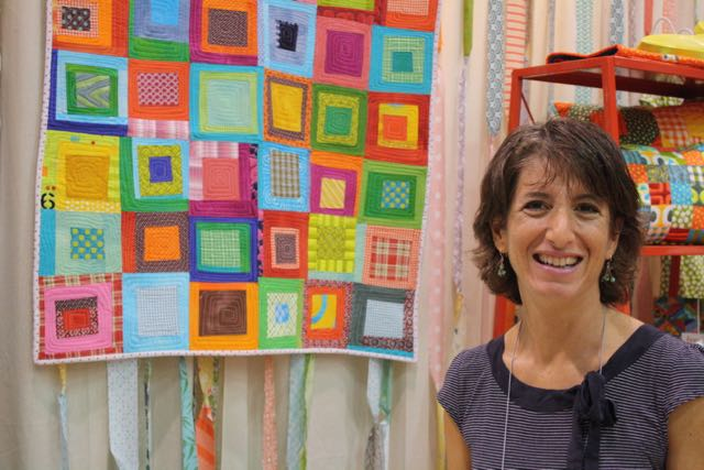 Malka Dubrawsky's fabrics hit the modern quilt sweet spot in 2011