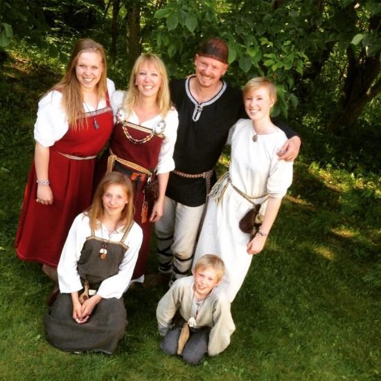 Wenche's Viking family