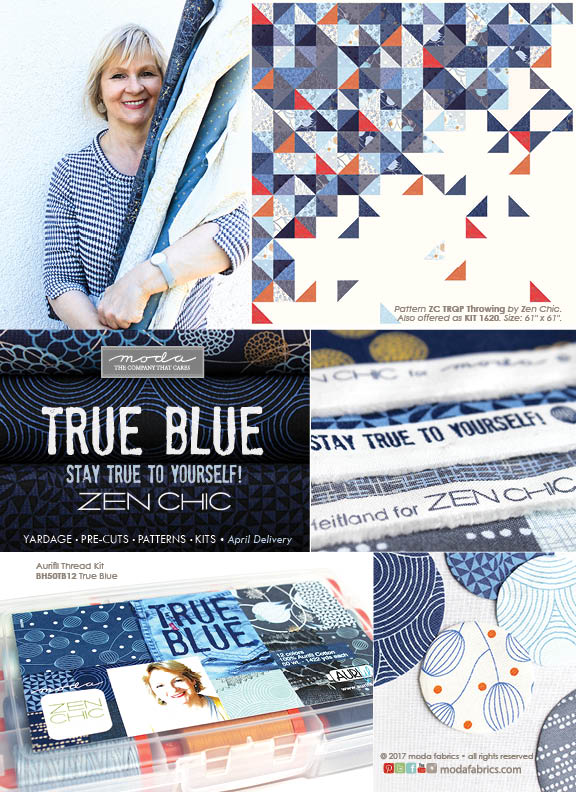 True Blue by Zen Chic