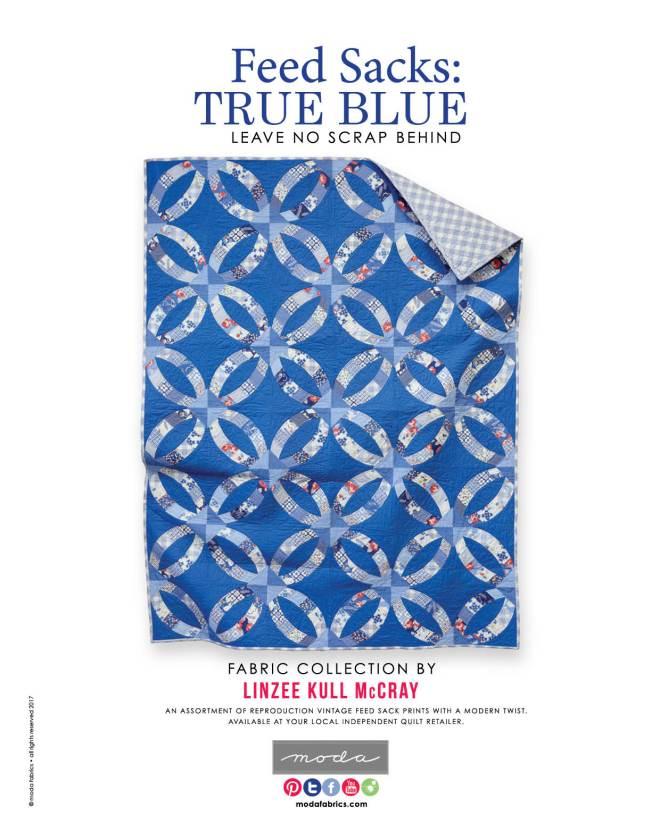Feed Sacks: True Blue by Linzee McCray