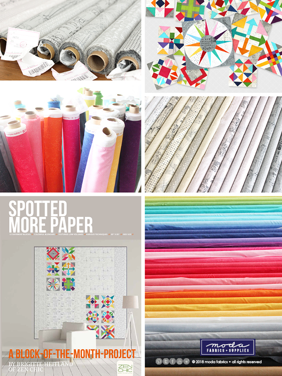 Spotted & More Paper by Zen Chic