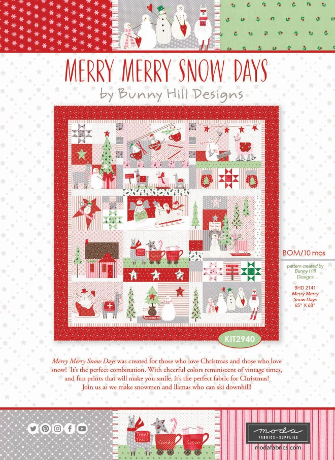 Merry Merry Snow Days by Bunny Hill