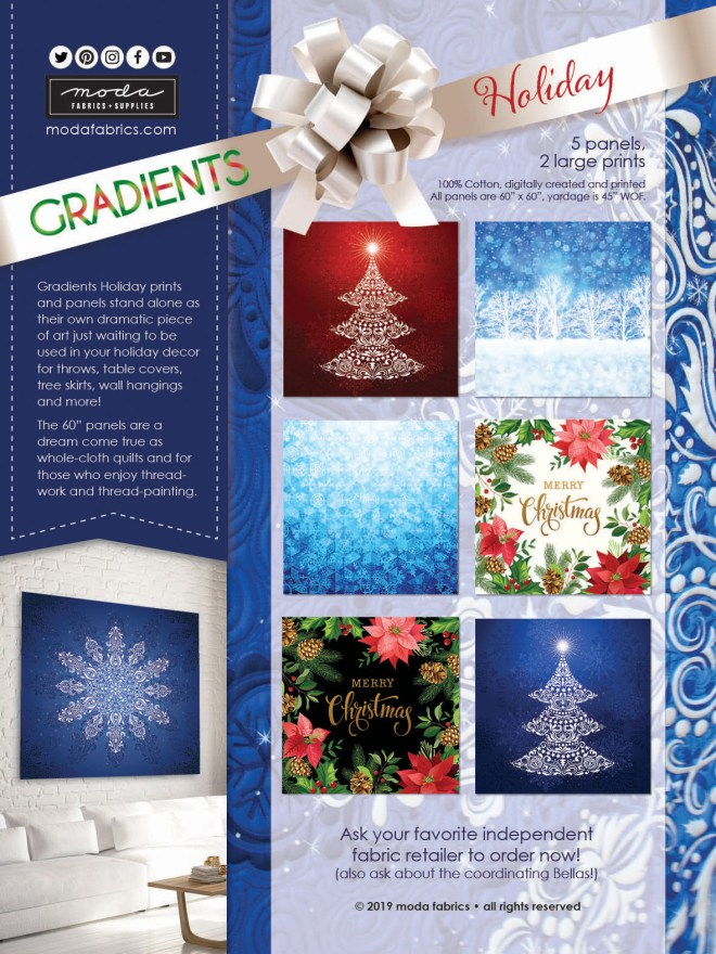 Gradients Holiday by Moda