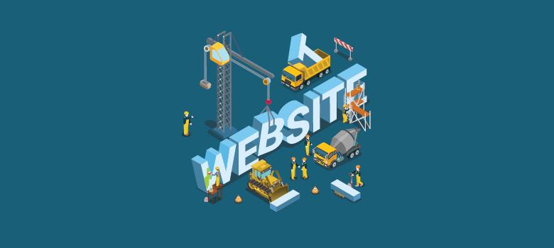 Logo Website dalam konstruksi