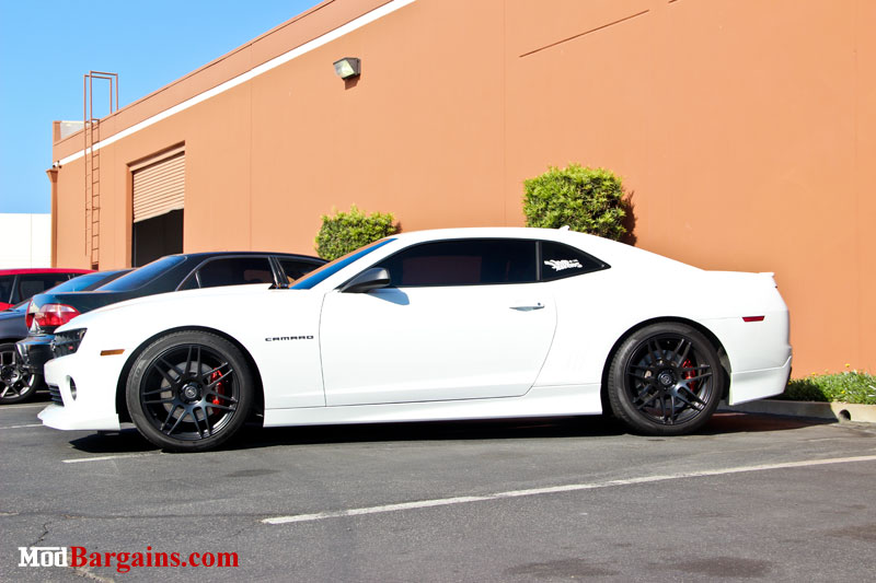 2012 Camaro Ss On A Fresh Set Of Forgestar F14 Wheels At