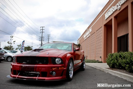 Red Mustang GT Beast