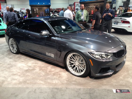 Dark Grey BMW 4 Series