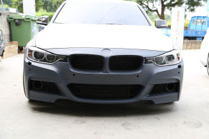 M-Sport Style Front Bumper for 2012 BMW 3-Series [F30]
