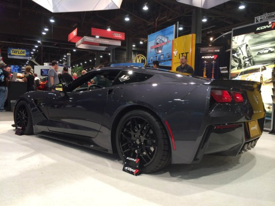 Dark Gray Chevy Corvette