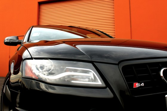 2012 Audi S4 Prestige Headlight Detail
