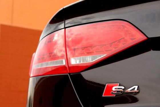 2012 Audi S4 Prestige Rear Logo Detail
