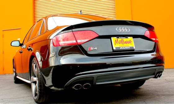 2012 Audi S4 Prestige Exhausts