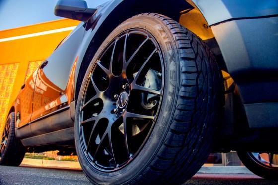 Black Avant Garde M310 Matte Black Wheels