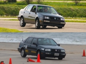 This Image Clearly Illustrates What Sway Bars do for your car. The Bottom car has performance sway bars, while the top car has OEM. Source: http://www.stealthtdi.com/