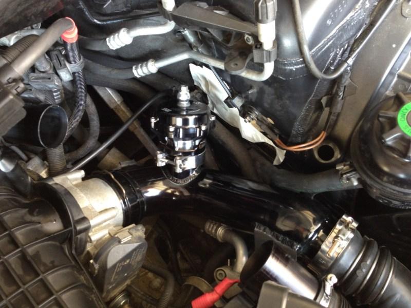 Evolution Racewerks N54 Chargepipe Black Tial Blowoff Valve BMW E82 135i