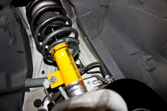 Coming Soon to an E90 near you? Koni Shocks on a BMW E90 335i