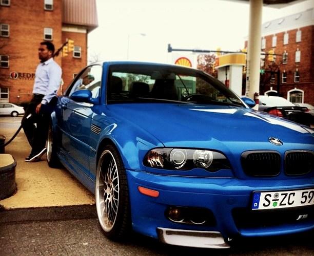 Xcuzem3 Sam S Laguna Seca Blue E46 M3