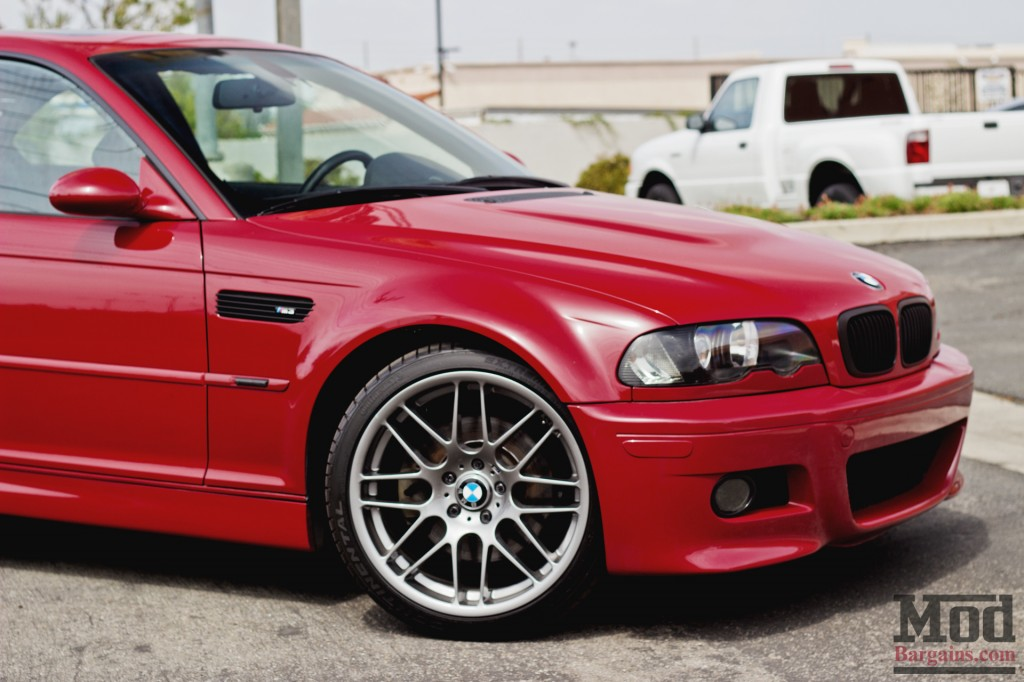Burning Passion Imola Red E46 Bmw M3