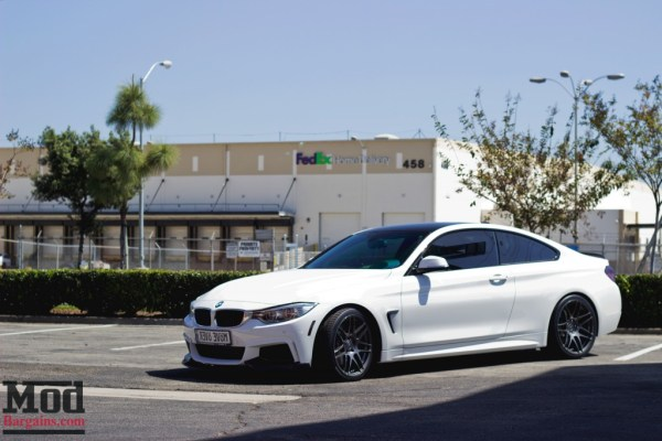 First Look: BMW F32 435i on Forgestar F14 Wheels in 19in Staggered Fitment