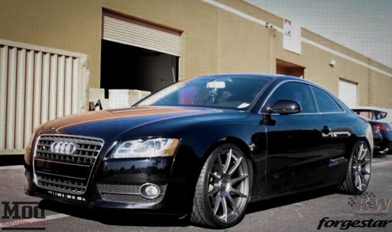 Audi B8 A5 Forgestar CF10 Gunmetal 19x85 KW V1 RS Grille (8)