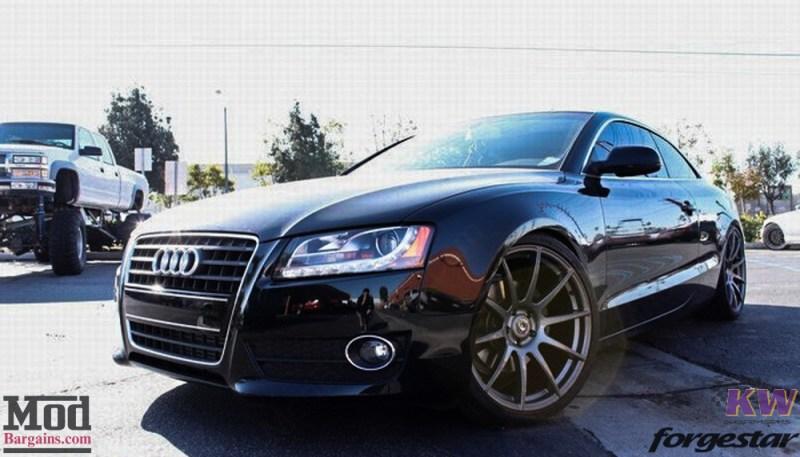 Audi B8 A5 Forgestar CF10 Gunmetal 19x85 KW V1 RS Grille (9)