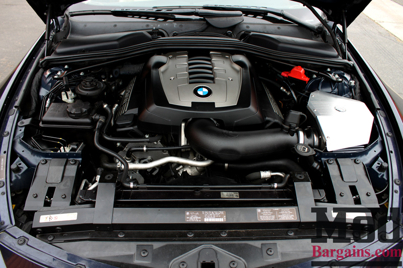 E Gets More HP With AFe Power BMW I Cold Air Intake - Bmw 650i engine