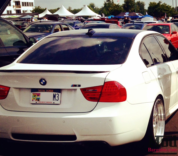 Finishing Touches: E90 BMW M3 Carbon Diffuser & Spoiler