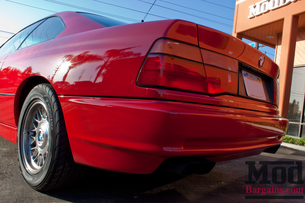 Moderne Classic E31 BMW 850i Gets Modern Stance With HR Sport Springs