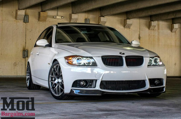 Turn Up The Contrast White Bmw E90 3 Series On Vmr V710s
