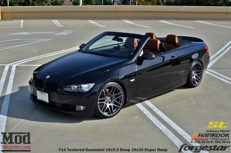 Black_BMW_E93_Forgestar-F14-19x9DC19x10SDC-hankook-st-coilovers-jeffkramer-alan-cust-img007