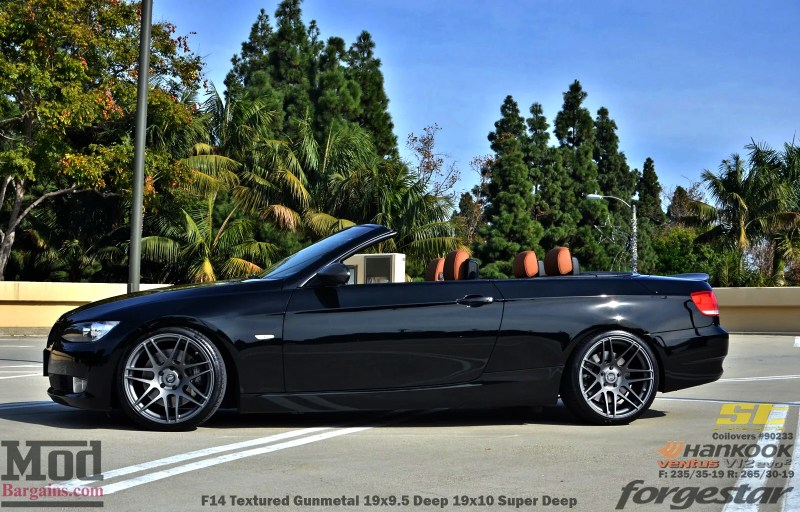 Black_BMW_E93_Forgestar-F14-19x9DC19x10SDC-hankook-st-coilovers-jeffkramer-alan-cust-img009