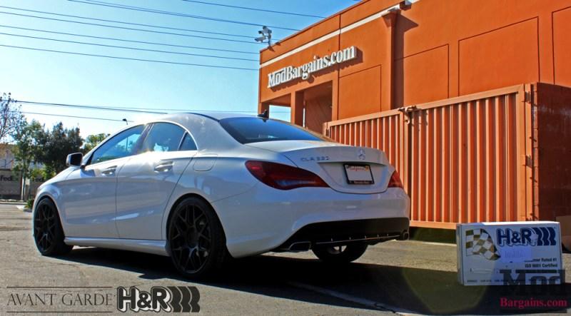 Mercedes_CLA250_HR_Springs_Avant_Garde_Black_Wheels_after_001