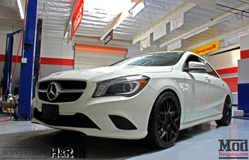 Mercedes_CLA250_HR_Springs_Avant_Garde_Black_Wheels_after_002