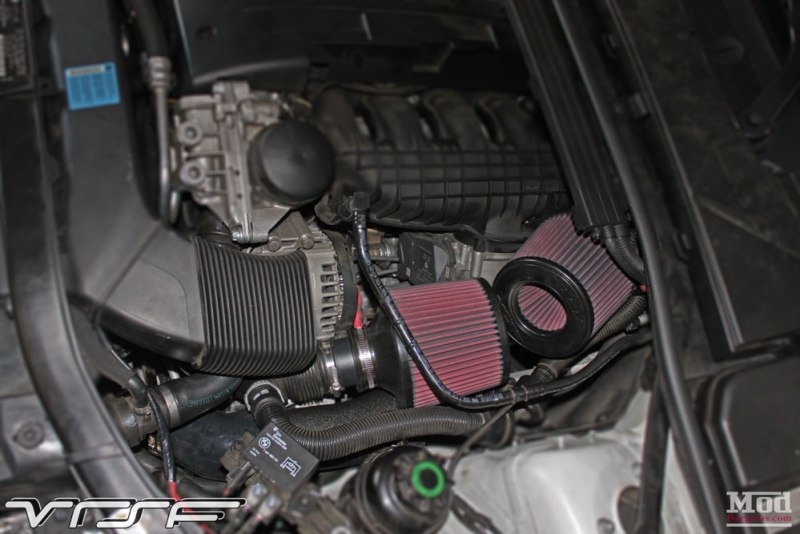 BMW E93 335is White VRSF FMIC Intake Chargepipe JB4 007